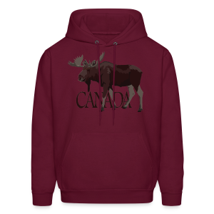 Canada Moose Hoodies Canada Souvenir Hooded Sweatshirts - Men's Hoodie