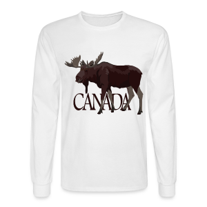Canada Moose Souvenir Shirts Men's Long Sleeve - Men's Long Sleeve T-Shirt
