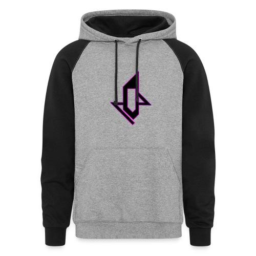 Logo hypetech dual color hoodie - Colorblock Hoodie