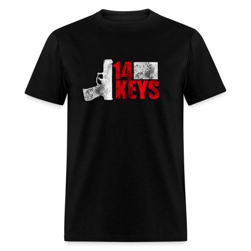 14 Keys Vintage Logo Direct Print - Men's T-Shirt