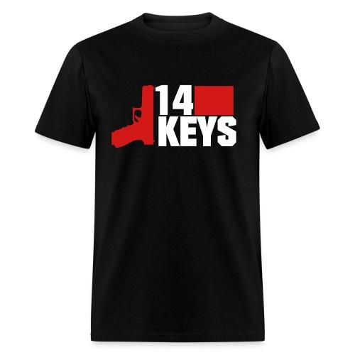 14 Keys Dual Colour Logo Shirt - Men's T-Shirt
