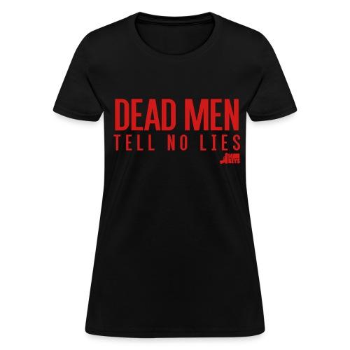 Dead Men Tell No Lies 14 KeyShirt Logo Red - Women's T-Shirt