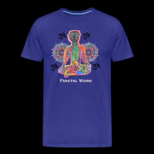 Fractal Zen - Mens T-shirt - Men's Premium T-Shirt