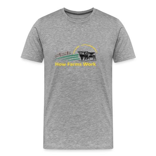 HFW Tee Flexprint (No YouTube logo) - Men's Premium T-Shirt