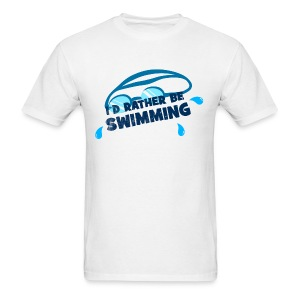 I'd Rather Be Swimming - Men's Tee - Men's T-Shirt