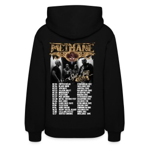 Methane Spit on Your Stage 2 sided tour hoodie - Women's Hoodie
