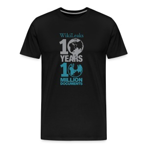 10 Years 10 Million Docs - Men's Premium T-Shirt