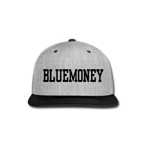 Blue Money Snap Back - Snap-back Baseball Cap