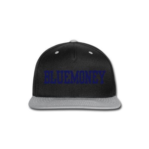 Blue Money Snap Back - Snap-back Baseball Cap