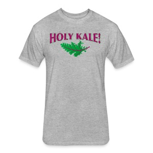 HOLY KALE! - Fitted Cotton/Poly T-Shirt by Next Level