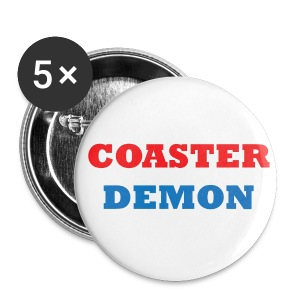 Coaster Demon Pin - Large Buttons