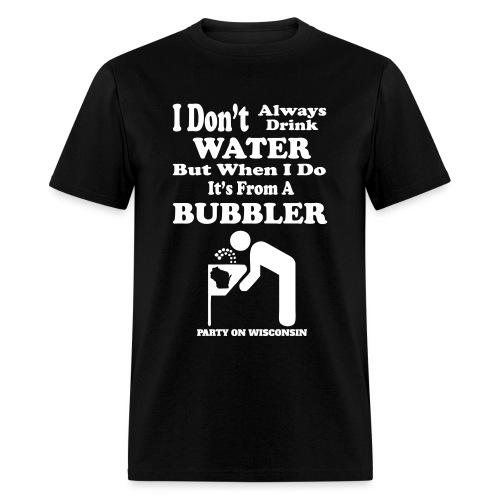 Bubbler Wisconsin - Mens - Men's T-Shirt
