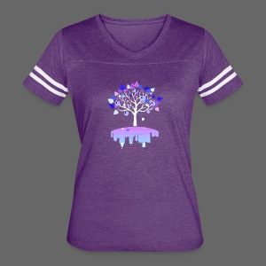 Detroit Winter Tree - Women's Vintage Sport T-Shirt