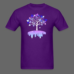 Detroit Winter Tree - Men's T-Shirt