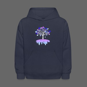 Detroit Winter Tree - Kids' Hoodie