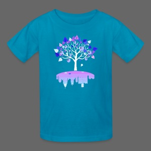 Detroit Winter Tree - Kids' T-Shirt