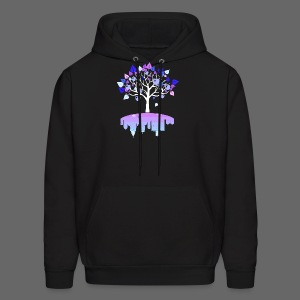 Detroit Winter Tree - Men's Hoodie