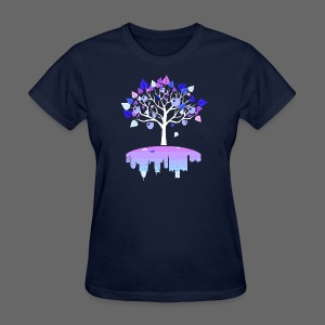 Detroit Winter Tree - Women's T-Shirt