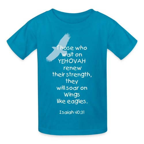 Those who trust in YEHOVAH - Kids' T-Shirt