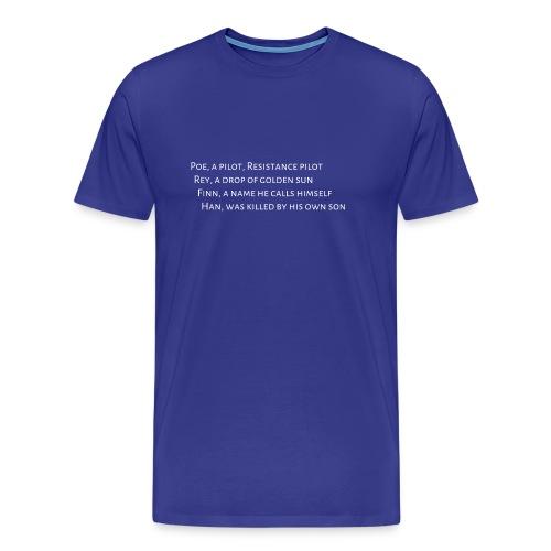 Sound of Star Wars - Mens - Men's Premium T-Shirt