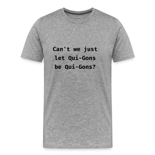 Qui-Gons - Mens - Men's Premium T-Shirt