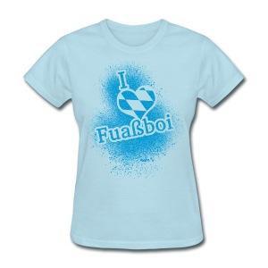 I Love Bavarian Soccer T-Shirt - Women's T-Shirt