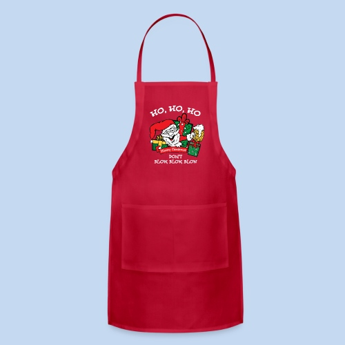 Ho Ho Ho Holiday Apron - Adjustable Apron
