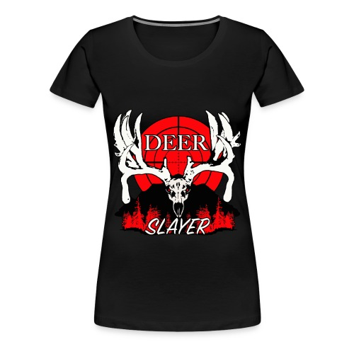 Deer slayer 2 red - Women's Premium T-Shirt