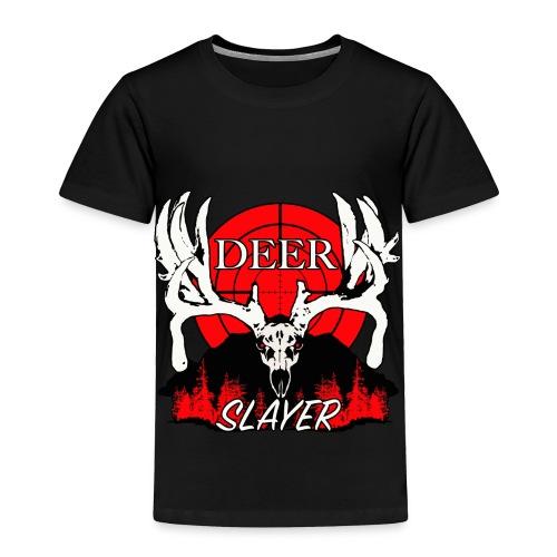 Deer slayer 2 red - Toddler Premium T-Shirt