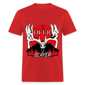 Deer slayer 2 red - Men's T-Shirt