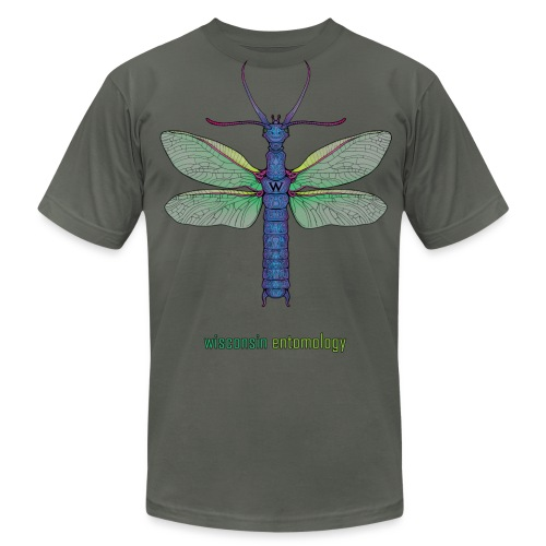 Megaloptera, text (Men's) - Men's Jersey T-Shirt