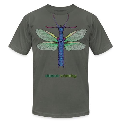 Megaloptera, text (Men's) - Men's Fine Jersey T-Shirt