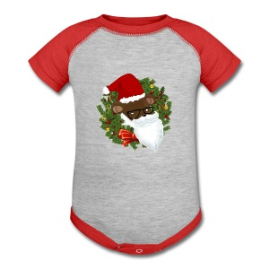 REDDY CLAUS ONESY - Baby Contrast One Piece