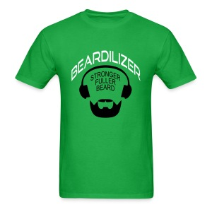 Beard White Large - Men's T-Shirt