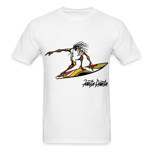 Surf - Custom Color and Text Select - Men's T-Shirt