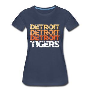 DETROIT TIGERS - Women's Premium T-Shirt