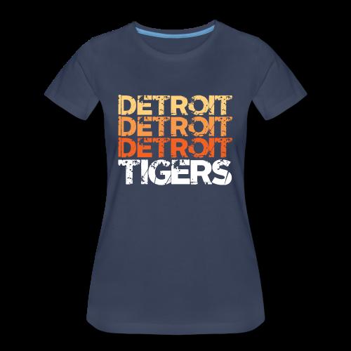DETROIT TIGERS - Women's Premium T-Shirt