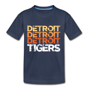 DETROIT TIGERS - Kids' Premium T-Shirt