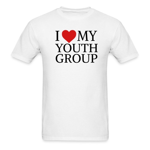 I Heart My Youth Group - Men's T-Shirt