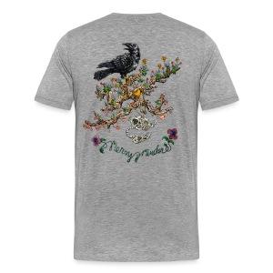 Mens Grey - Men's Premium T-Shirt
