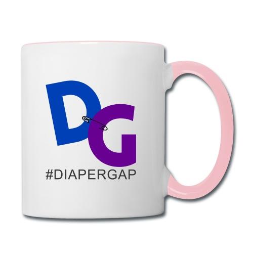 #DiaperGap Mug - Color handle - Contrast Coffee Mug