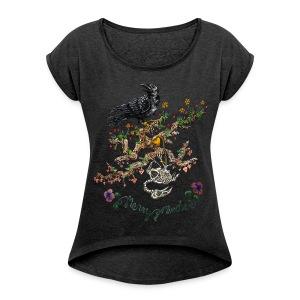 Womens Boxy T - Women's Roll Cuff T-Shirt