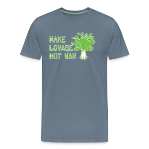 Make Lovage Not War -Premium Tee - Men's Premium T-Shirt