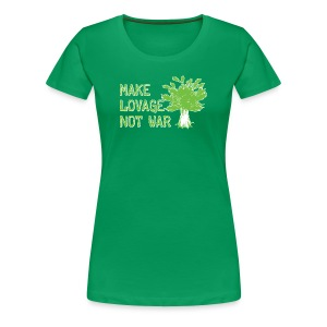 Make Lovage Not War -Premium Tee - Women's Premium T-Shirt