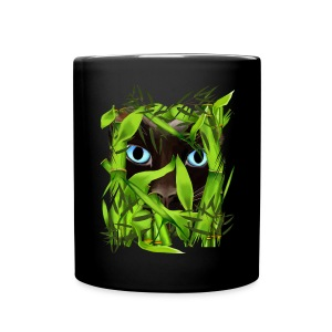 Siamese Cat Eyes in Bamboo - Full Color Mug
