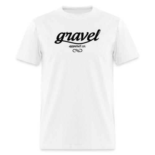 Gravel Apparel Logo Tee - White - Men's T-Shirt