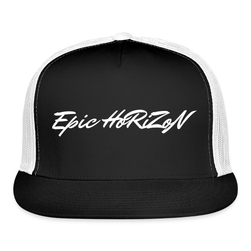 Epic HoRiZoN White Logo - Trucker Cap