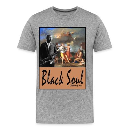 The Black Soul Musical Tee - Men's Premium T-Shirt