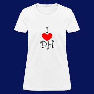 I LOVE DIVINE HARMONY - Women's T-Shirt