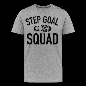 Step Goal Squad #3 Design - Women's Plus Sized, Mens Plus Sized, SM - 5XL - Men's Premium T-Shirt